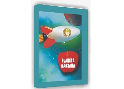 PLANETA MANZANA   ✅ Cuentos Personalizados - Profesora - Celebraciones - A medida -